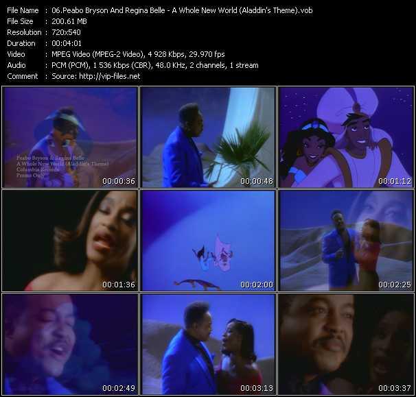 video A Whole New World (Aladdin's Theme) screen