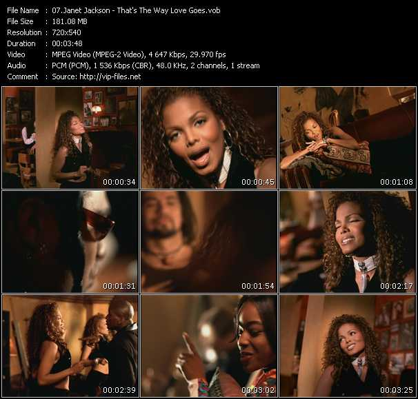 video That's The Way Love Goes screen