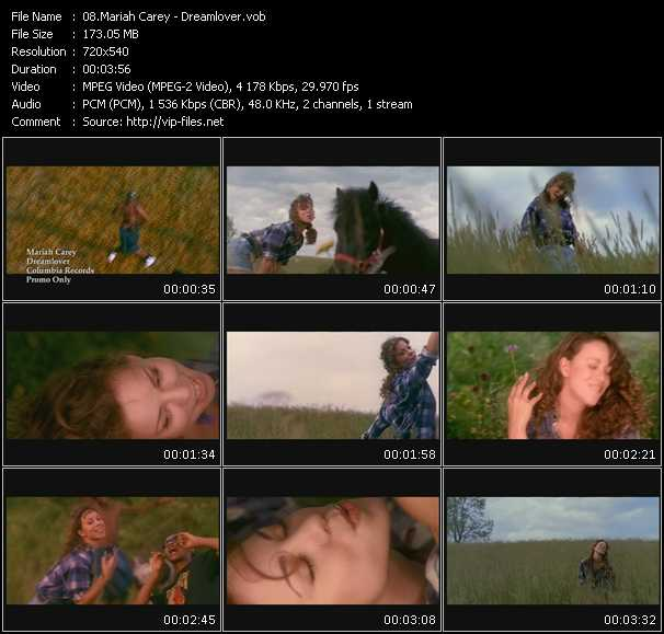 video Dreamlover screen