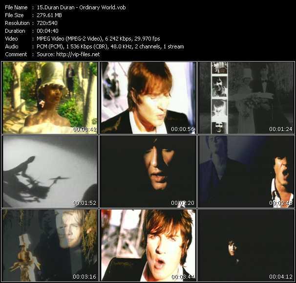 video Ordinary World screen