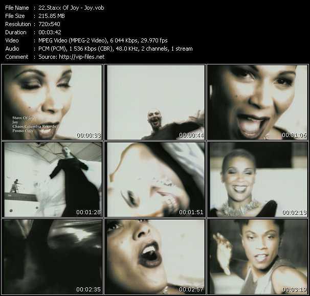 video Joy screen