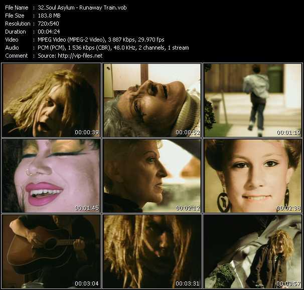 download Soul Asylum « Runaway Train » video vob