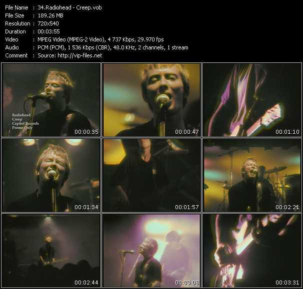 video Creep screen