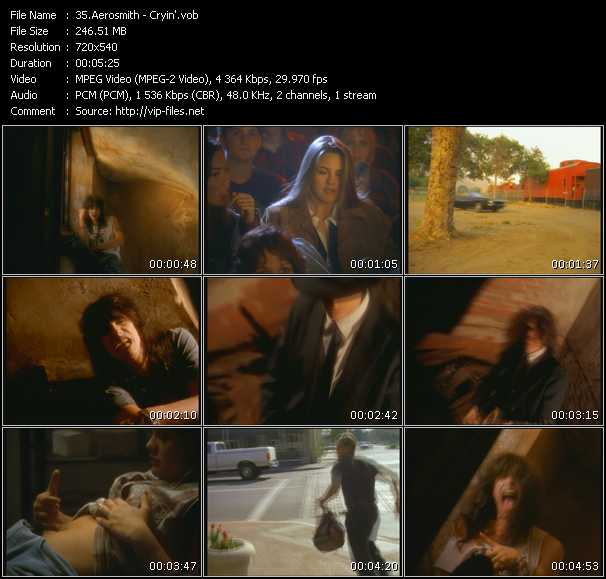download Aerosmith « Cryin' » video vob