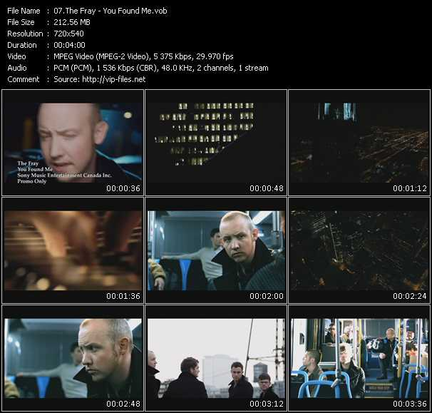 video You Found Me screen