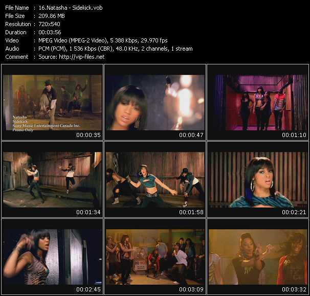 video Sidekick screen