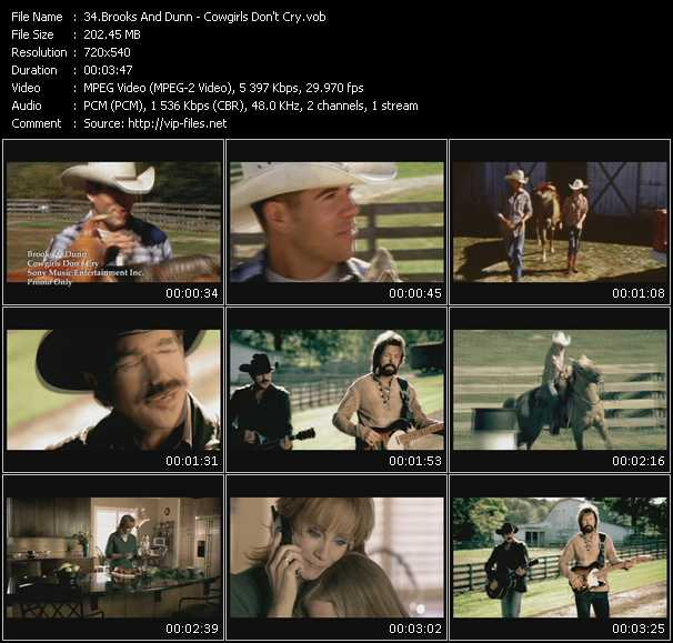 video Cowgirls Don't Cry screen