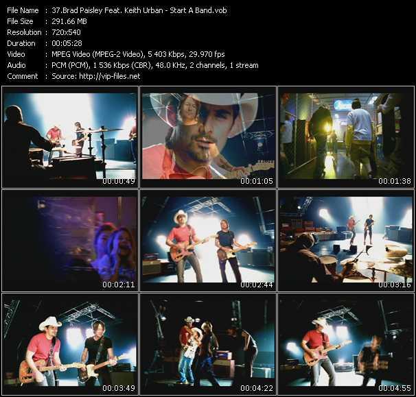 video Start A Band screen