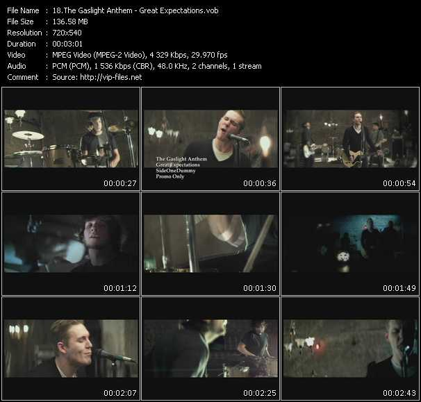 download Gaslight Anthem « Great Expectations » video vob
