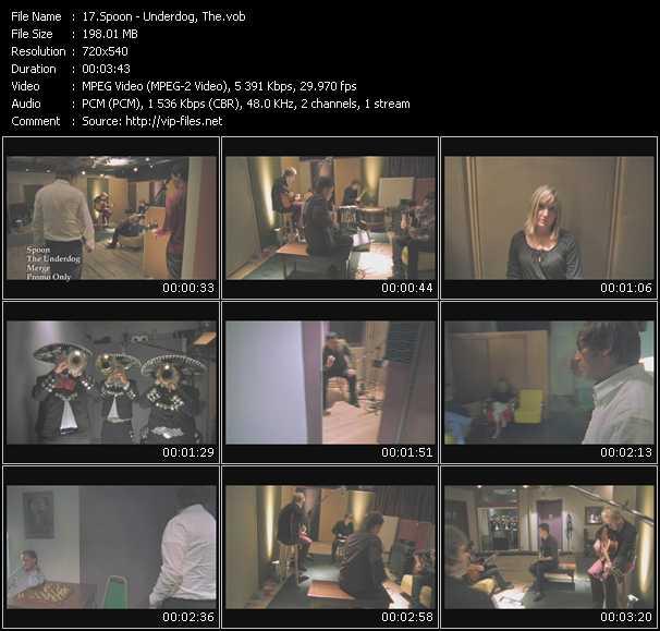 download Spoon « Underdog, The » video vob