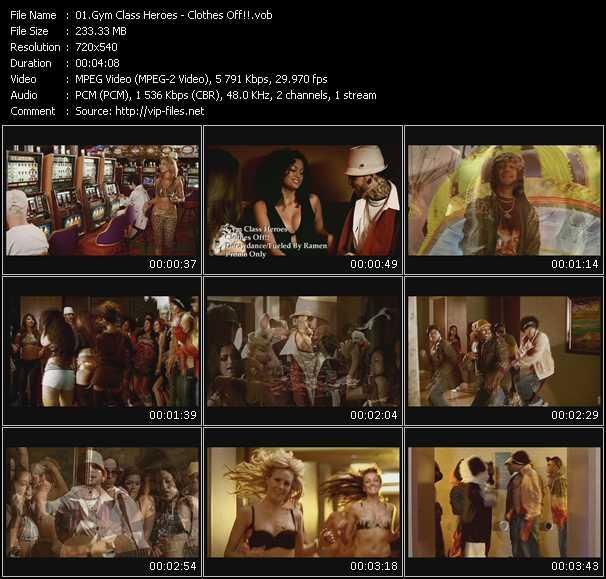 video Clothes Off!! screen