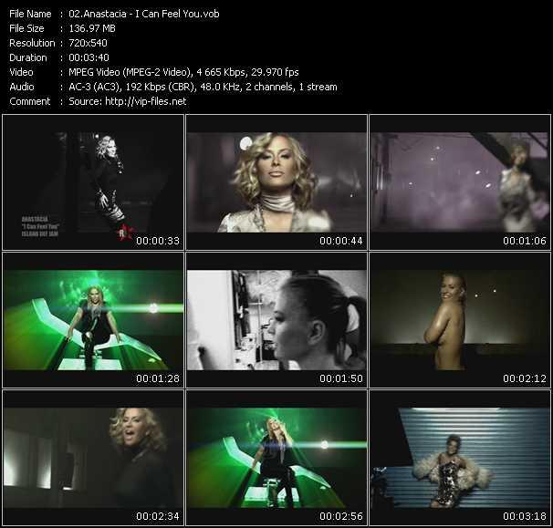video I Can Feel You screen