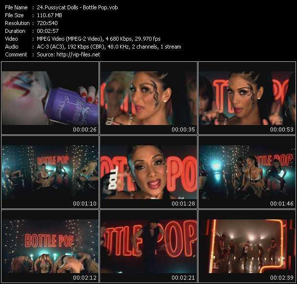 download Pussycat Dolls « Bottle Pop » video vob