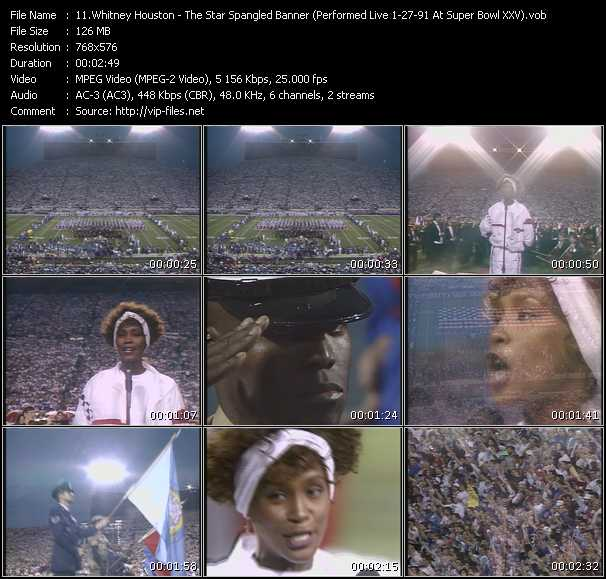 video The Star Spangled Banner (Performed Live 1-27-91 At Super Bowl XXV) screen