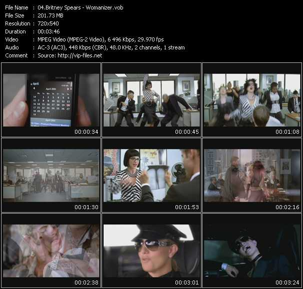 video Womanizer screen