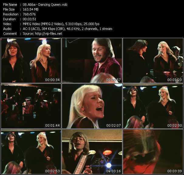 video Dancing Queen screen