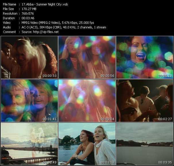 video Summer Night City screen