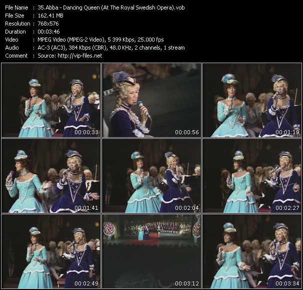 video Dancing Queen (At The Royal Swedish Opera) screen