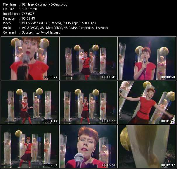 download Hazel O'Connor « D-Days (From Bananas) » video vob