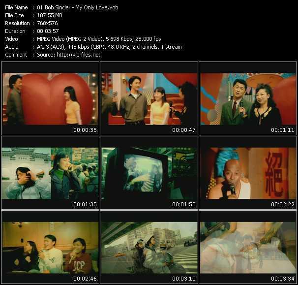 download Bob Sinclar « My Only Love » video vob