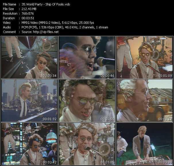video Ship Of Fools screen