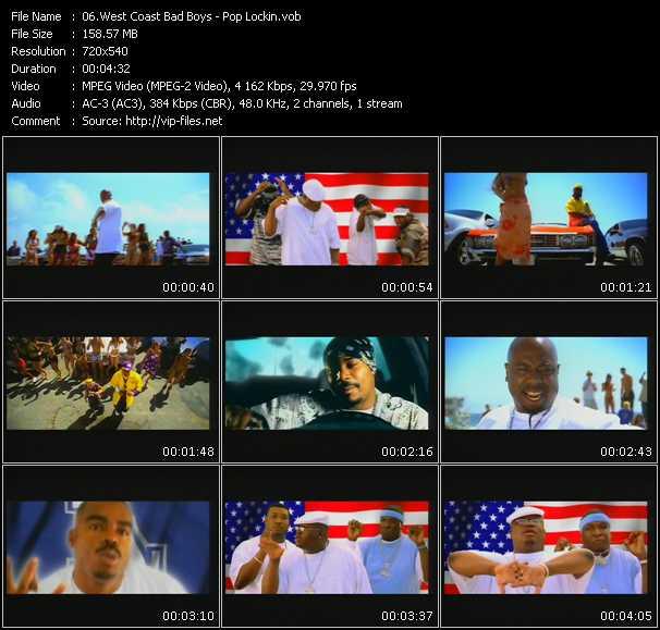 video Pop Lockin screen