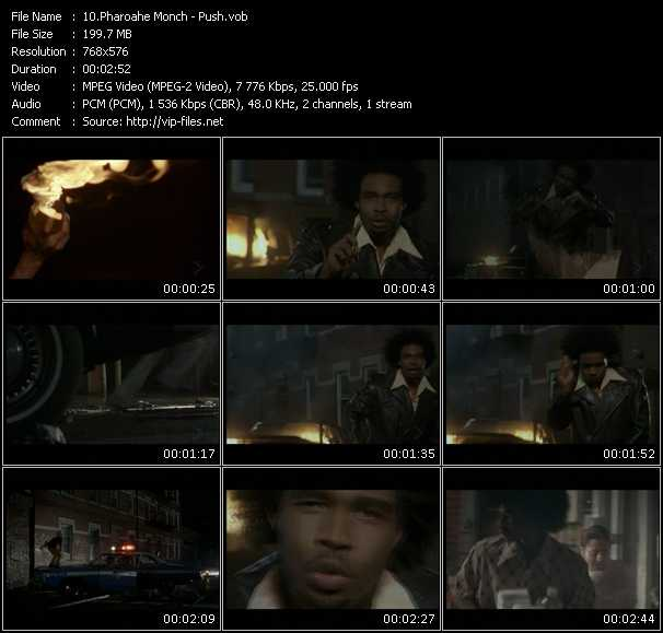 download Pharoahe Monch &laquo; Push &raquo; video vob 