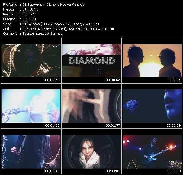video Diamond Hoo Ha Man screen