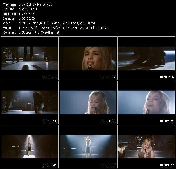 download Duffy « Mercy » video vob