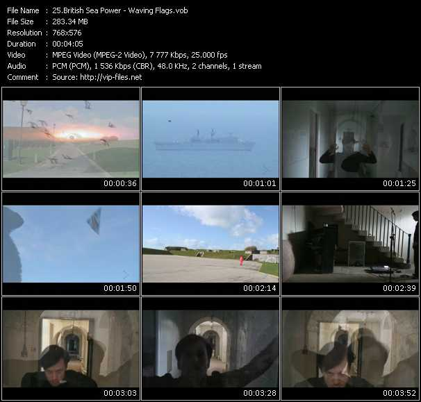 download British Sea Power « Waving Flags » video vob
