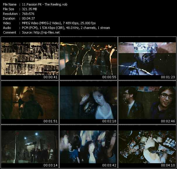 download Passion Pit « The Reeling » video vob