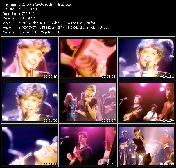 download Olivia Newton-John « Magic » video vob