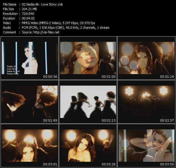 video Love Story screen