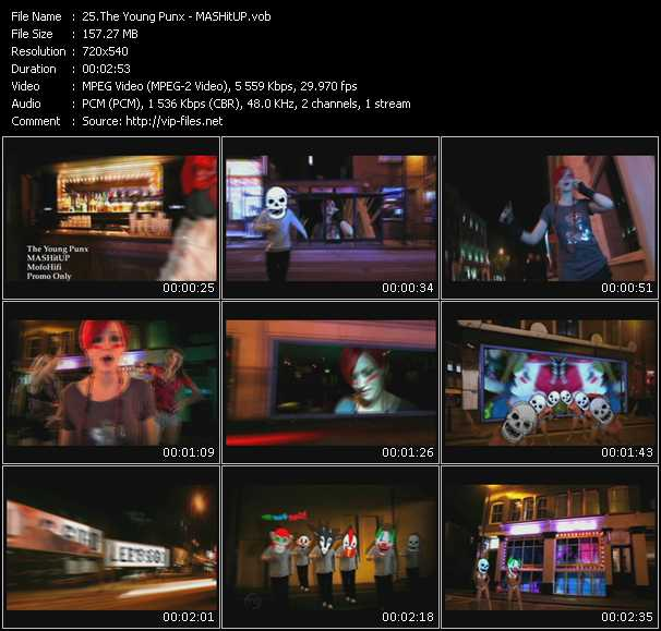 video MASHitUP screen