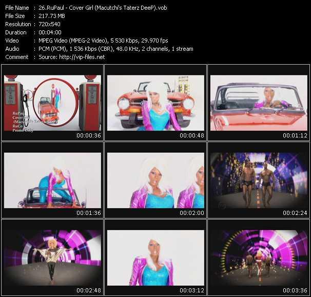 video Cover Girl (Macutchi's Taterz DeeP) screen