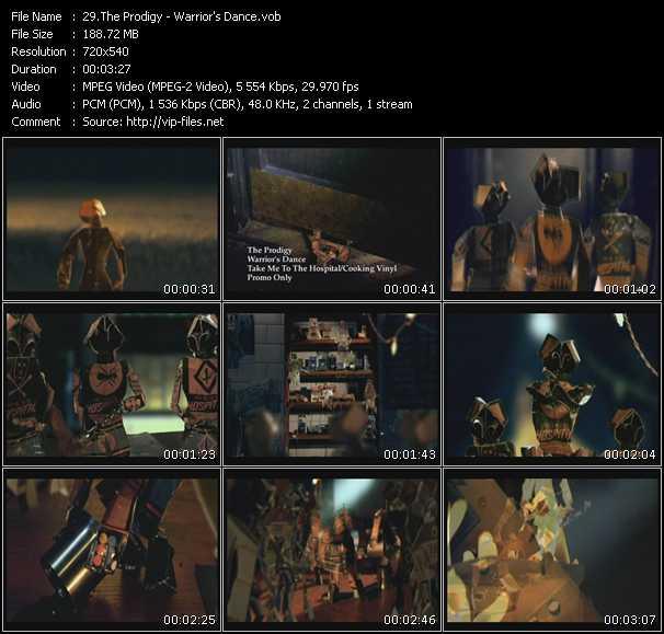 video Warrior's Dance screen