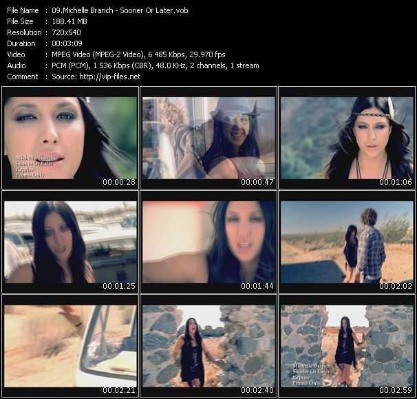 video Sooner Or Later screen