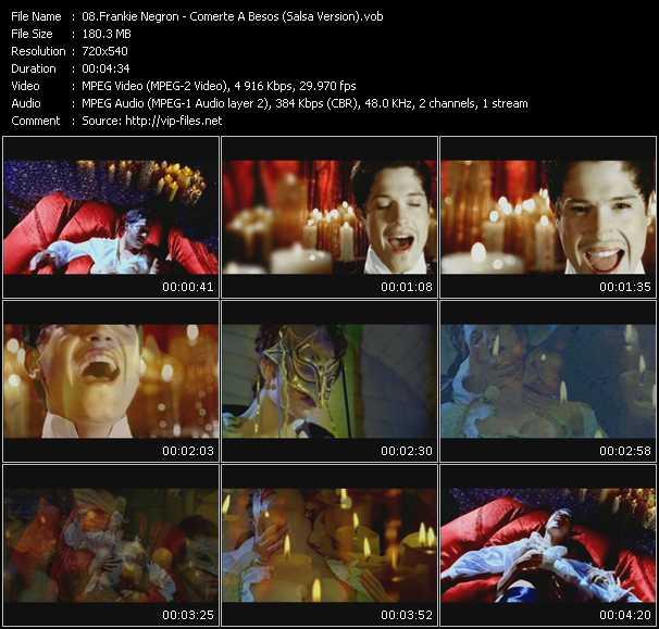 video Comerte A Besos (Salsa Version) screen