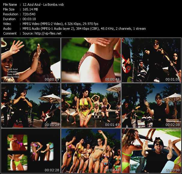 video La Bomba screen