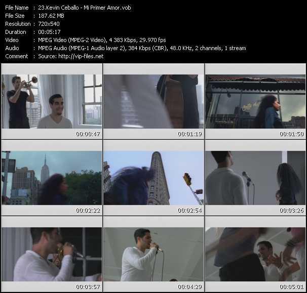 video Mi Primer Amor screen