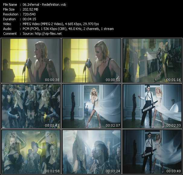 download Infernal « Redefinition » video vob
