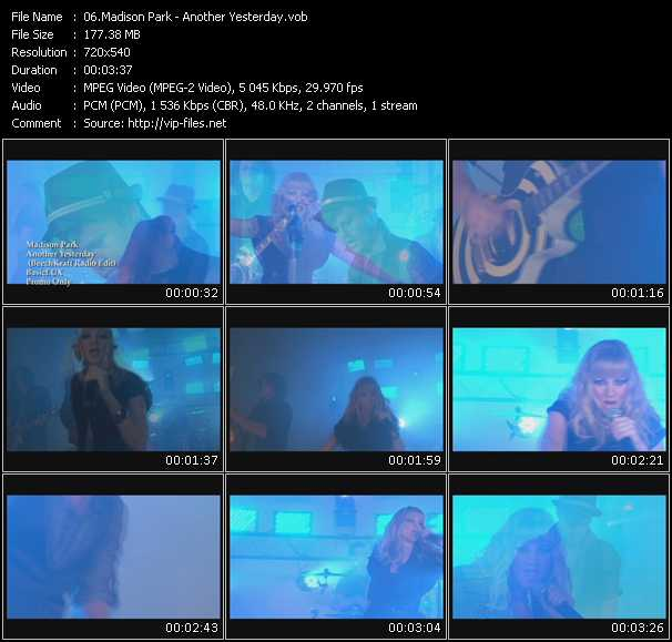 video Another Yesterday screen