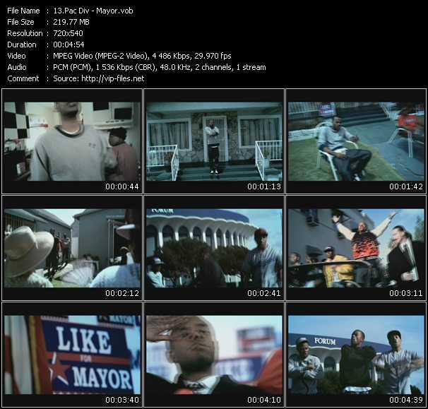 video Mayor screen
