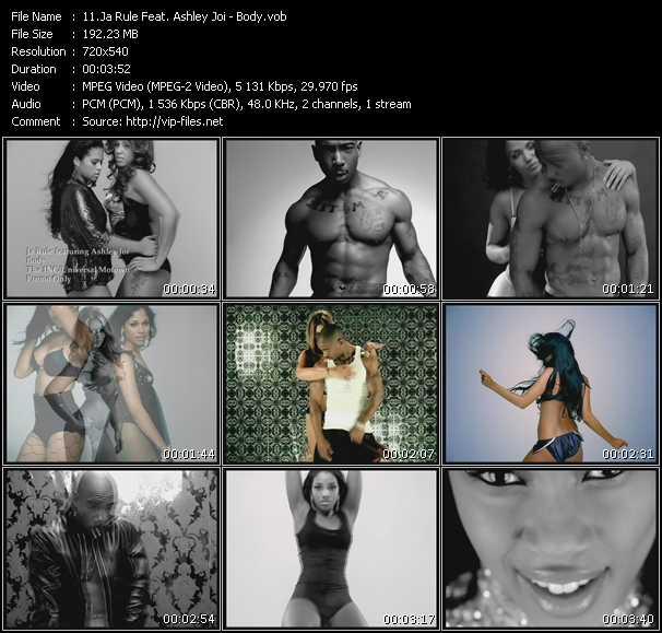 Рэп клип ja rule - body (супер красивые девушки, видео клип скачать)