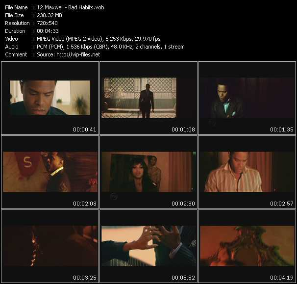 video Bad Habits screen