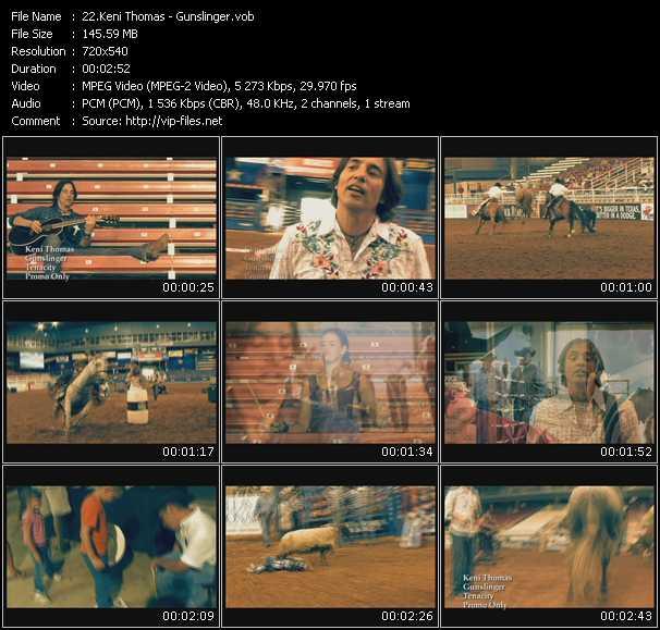 video Gunslinger screen