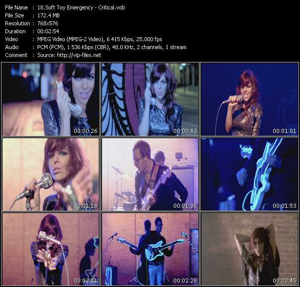 video Critical screen