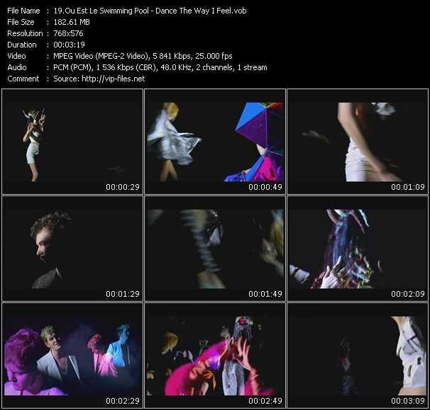 video Dance The Way I Feel screen
