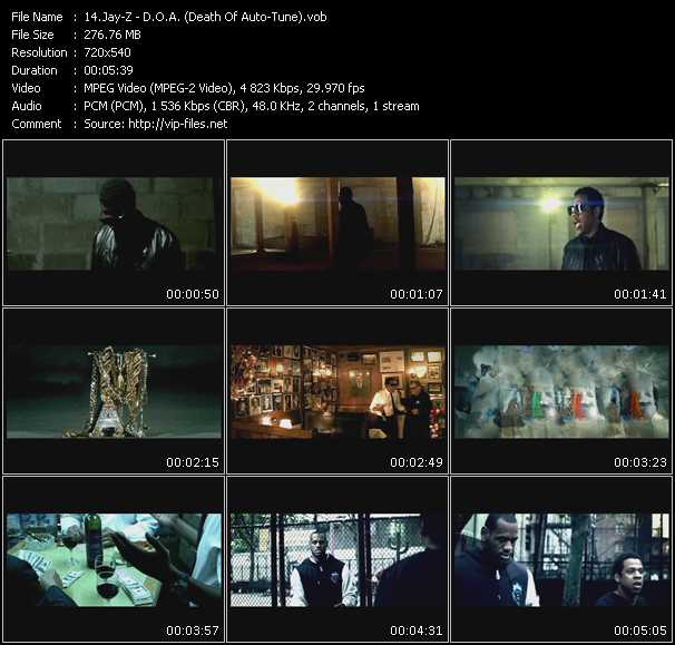 download Jay-Z « D.O.A. (Death Of Auto-Tune) » video vob