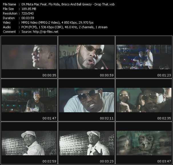 video Drop That screen